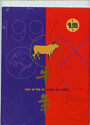 Weeda Canada Thematic Collection #74, 1997 Year of the Ox Lunar New Year CV $25