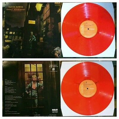 david bowie the rise and fall of ziggy Stardust and the Spider on mars coloured