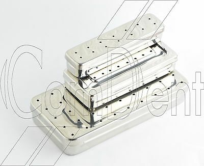 Perforated Instrument Storage Sterilizer Box For Surgical Medical Veterinary CE