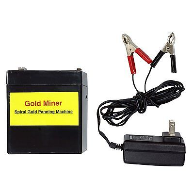 Battery & Charger Package for Gold Miner Spiral Panning Machine