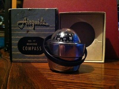 airguide marine compass no.77    mint unused