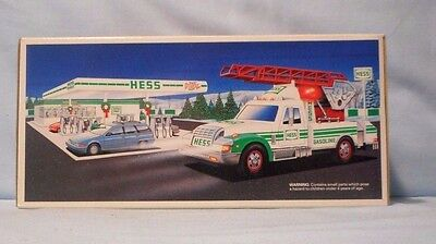 1994 Hess Toy Truck - Rescue Truck - New Mint  In Original Box