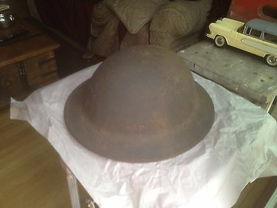 Antique WW1 American Brodie helmet M1917