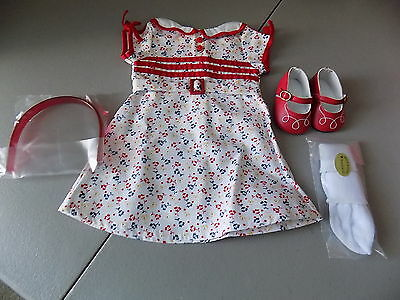 NEW! RETIRED AMERICAN GIRL KIT'S 1st EDITION REPORTER DRESS OUTFIT