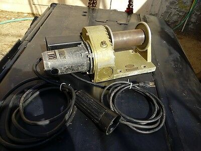 Power Winch, Cordem Corp. model  1200