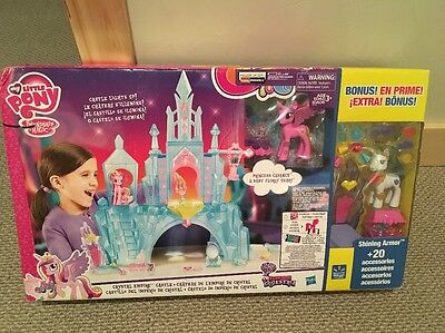 My Little Pony- Explore Equestria Crystal Empire Castle Value Pack - New