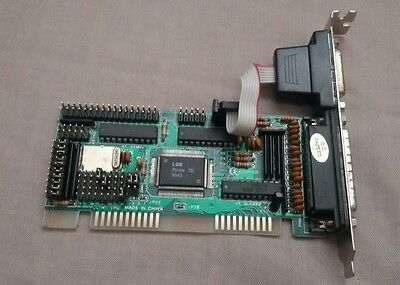 ISA parallel floppy controller card LGS Prime 3B 9543