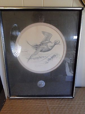 Vintage Ducks Unlimited Old Squaw Toschik 65/100 Print