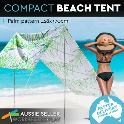 Beach Tent Pop Up Portable Canopy Summer Retro Shade Shelter Byron Outdoor Lovin