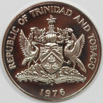 1976 Republic of Trinidad and Tobago 50c - Higher Grade