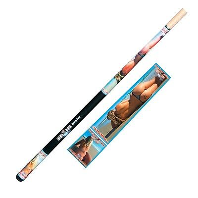 "HARD CORE BEACH BUM Pool CUE - Maple 2 piece 57"" - Snooker Billiards - Formula"