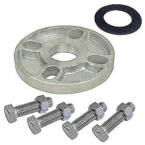 DAYTON Stainless Steel Booster Pump Flange Kit,1-1/4 In. NPT,SS, 21R871