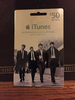Beatles: USED iTunes $50 gift card