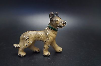 VTG Party Favor HUBLEY Cast Iron GREAT DANE Dog Toy Child