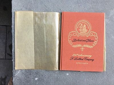200th Anniversary Lorillard Co. Edition of Lorillard and Tobacco 1760-1960