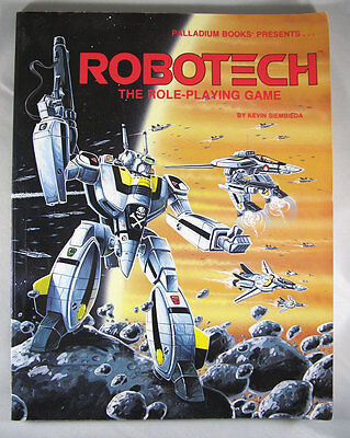 Robotech: The Role-Playing Game by Kevin Siembieda Palladium Books