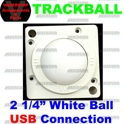 New: USB & PS2 Trackball – 2 1/4″ Ball with USB Connection: PC / Arcade / Mame