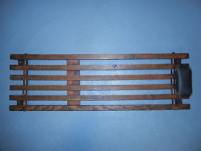 "MECHANICS CREEPER Early / Mid-Century Wooden -  Wood Slat 38 1/2"" X 12"" Vintage"
