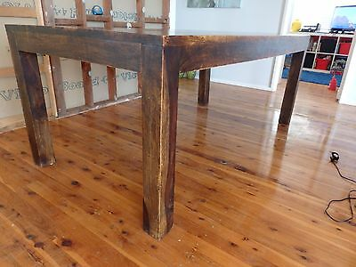 Dining Table solid hard wood