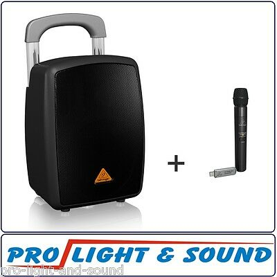 Behringer Portable PA System + Wireless Microphone MPA40BT-PRO + ULM100USB