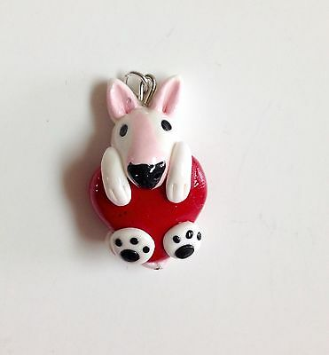 Bull terrier Pendant With Name Or With Out Name