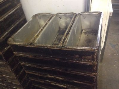 Commercial bread baking tins moulds