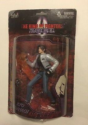 "NEW IN PACKAGE The King of Fighters 2000 Kyo Kusanagi 12"" Figure Blue Box Toy"