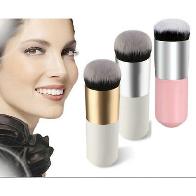 Flat Foundation Makeup Brush Face Blush Powder Contour Cosmetic Tools Soft Top