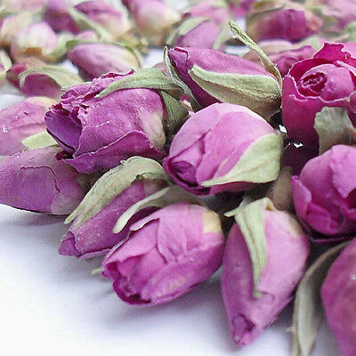 New Rose Tea French Herbal Organic Imperial Dried Rose Buds 100g Dignified RD