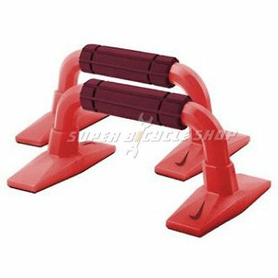 NIKE Push Up Grips Workout Training Grips 2.0 , Red
