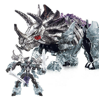 Transformers Slag Dinobot Chrome Oversized Black Knight Wei Jiang Age Extinction