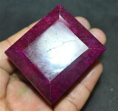 Best Quality 773.95 Ct GGL Certified Natural Emerald Shape Red RUBY Gemstone
