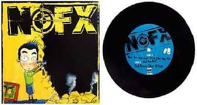 NOFX - 7 inch of the month club #08 (RP, black vinyl, 2005), with insert