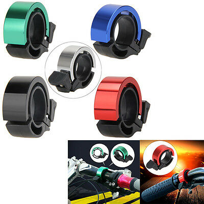 Bike Bicycle Invisible Bell Aluminum Alloy Loud Sound Handlebar Safety Horn Bell