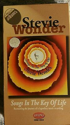 Songs In The Key Of Life VHS By Stevie Wonder/VH1 Classic Album