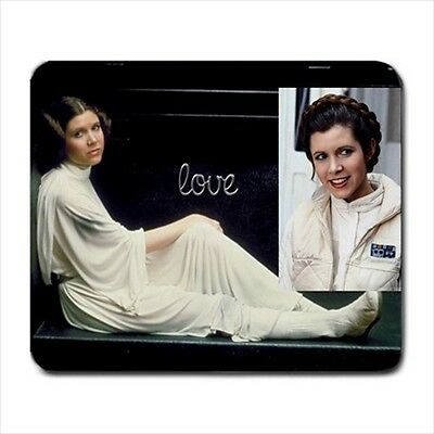 Star Wars Princess Leia Collectible Classic Photos Large Mouse Pad