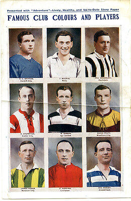 Adventure - Football - Famous Club Colours And Players - 1922 - 3