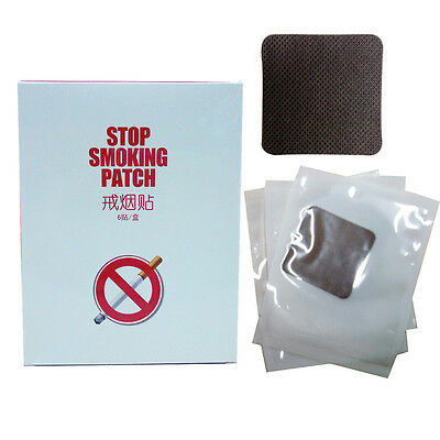 6 Patches Smoking Cessation Nicotine Patch Natural Herbal Quit Stop Smoking