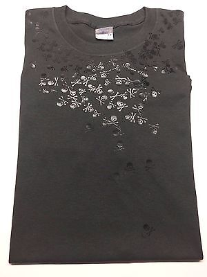 Final Fantasy XV Noctis Skulls Shirt US Shipped Fast FREE!