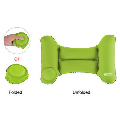 ROMIX RH35 Travel Sleep Folding Self-inflating Back Waist Cushion Pillow