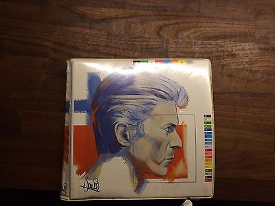 """David Bowie Fashion 10x 7"""" Picture Disc Set In Wallet"""