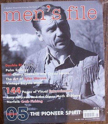 Men's File Magazine. Iss.05. Mens.A modern Magazine tracing the Roots of Style