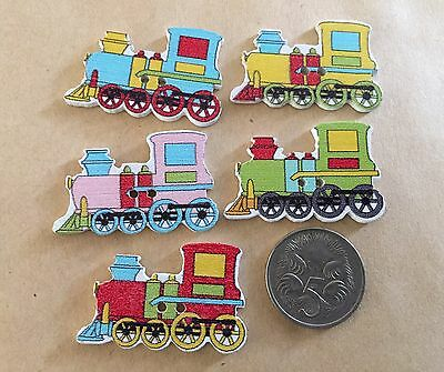 10 Train Buttons - Randomly Selected -