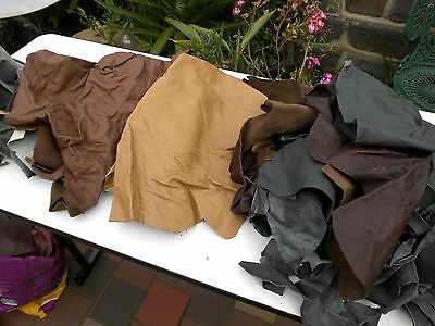 Leather Craft Mixed Sizes And Colours 3 Kg Bag No 14