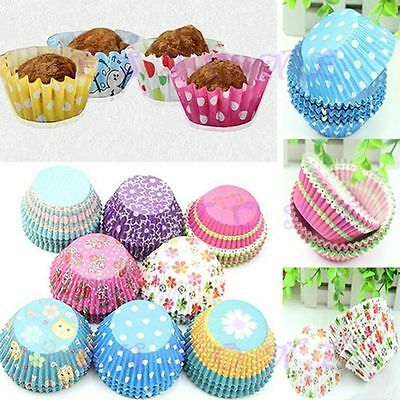 Liner Chocolate Muffin Liners Party Mini Wrapper Cupcake Cake Paper Baking