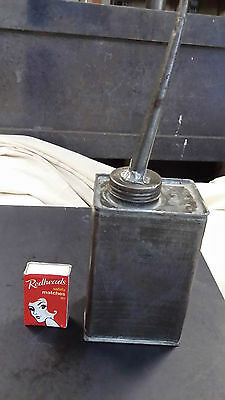 1 Vintage Small Square Oil Can