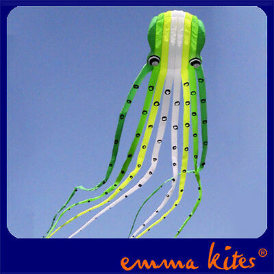 Professional 23M 3D Octopus Soft Kite Parafoil Kite for Wind Game Kite Shows