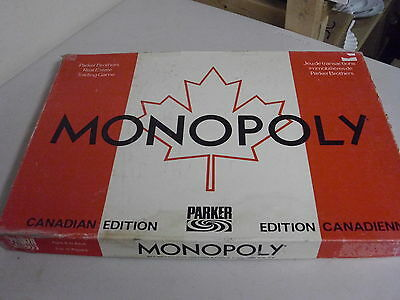 Monopoly The Canadian Edition Board Game Replacement Pieces Only