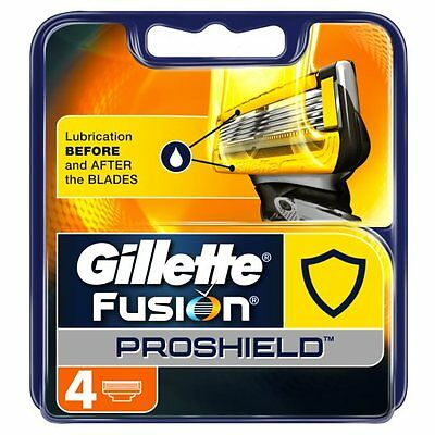 Gillette Fusion Proshield Blades Refill 4 Pack