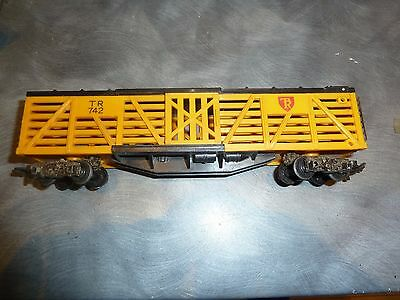 Triang 00 Gauge Live Stock Wagon Tr 742